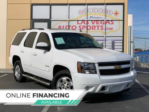 2013 Chevrolet Tahoe for sale at Las Vegas Auto Sports in Las Vegas NV