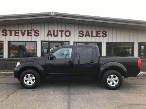 2013 Nissan Frontier for sale at STEVE'S AUTO SALES INC in Scottsbluff NE