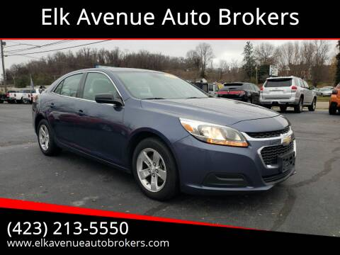 2014 Chevrolet Malibu for sale at Elk Avenue Auto Brokers in Elizabethton TN