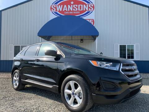 2018 Ford Edge for sale at Swanson's Cars and Trucks in Warsaw IN