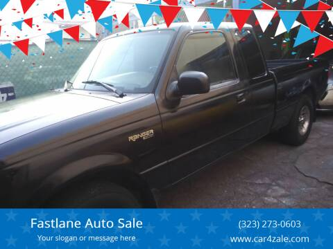 1999 Ford Ranger for sale at Fastlane Auto Sale in Los Angeles CA
