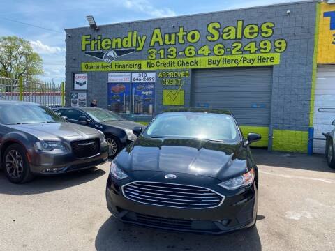 2020 Ford Fusion for sale at Friendly Auto Sales in Detroit MI