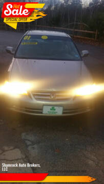 2001 Honda Accord for sale at Shamrock Auto Brokers, LLC in Belmont NH