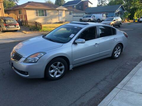 2008 Nissan Altima for sale at Blue Line Auto Group in Portland OR