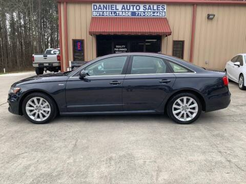 2015 Audi A6 for sale at Daniel Used Auto Sales in Dallas GA