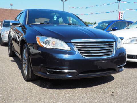 2011 Chrysler 200 for sale at Sunrise Used Cars INC in Lindenhurst NY