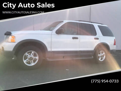 2003 Ford Explorer for sale at City Auto Sales in Sparks NV