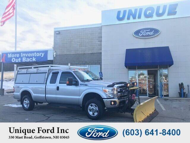 2012 Ford F-250 Super Duty for sale at Unique Motors of Chicopee - Unique Ford in Goffstown NH