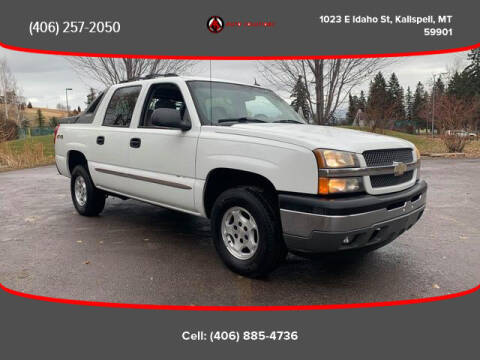 2005 Chevrolet Avalanche for sale at Auto Solutions in Kalispell MT