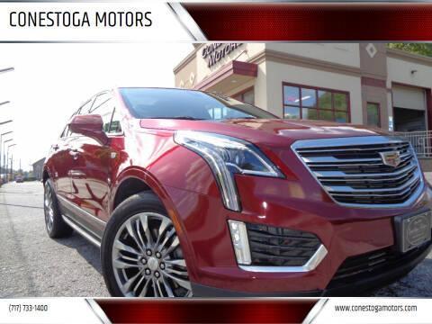 2017 Cadillac XT5 for sale at CONESTOGA MOTORS in Ephrata PA