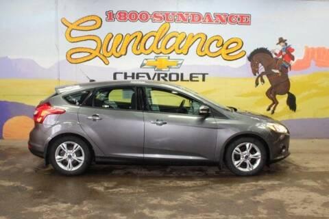 2013 Ford Focus for sale at Sundance Chevrolet in Grand Ledge MI