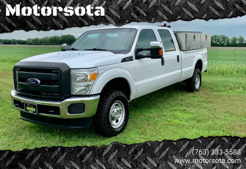 2016 Ford F-250 Super Duty for sale at Motorsota in Becker MN