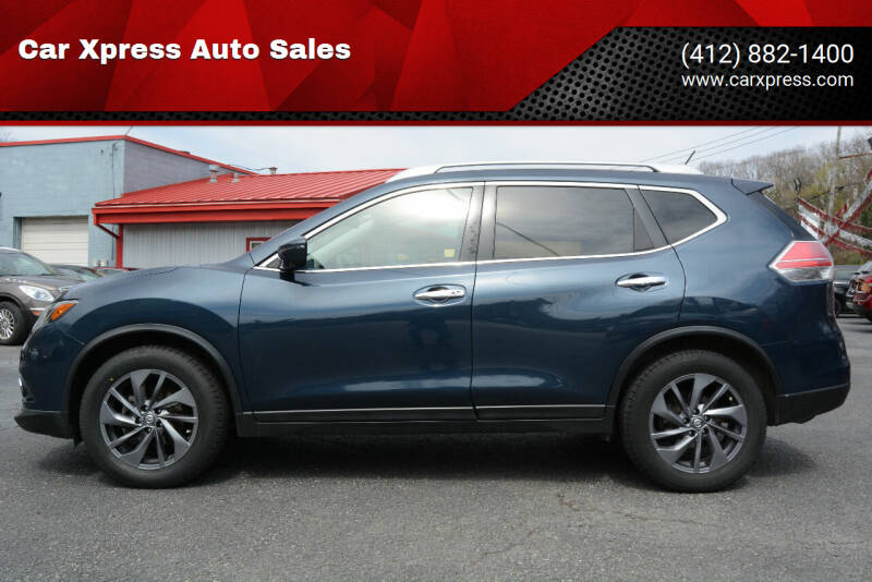 2016 Nissan Rogue for sale at Car Xpress Auto Sales in Pittsburgh PA