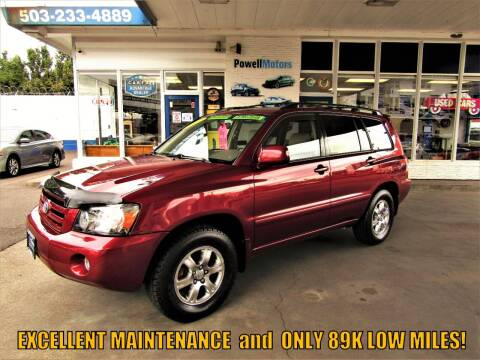2007 Toyota Highlander for sale at Powell Motors Inc in Portland OR