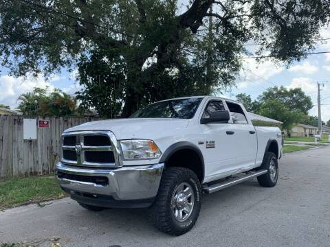 2017 RAM Ram Pickup 2500 for sale at Auto Direct of South Broward in Miramar FL