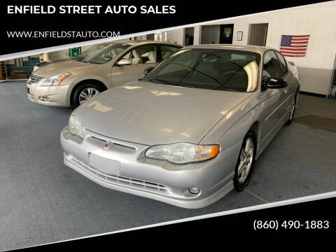 2004 Chevrolet Monte Carlo for sale at ENFIELD STREET AUTO SALES in Enfield CT