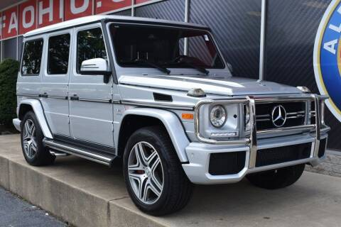 2015 Mercedes-Benz G-Class for sale at Alfa Romeo & Fiat of Strongsville in Strongsville OH