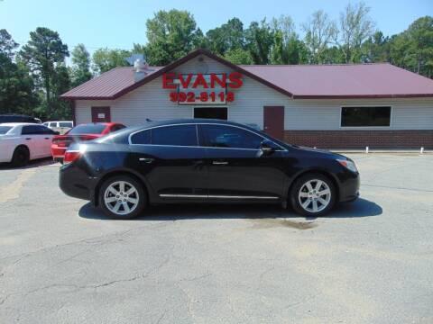 2010 Buick LaCrosse for sale at Evans Motors Inc in Little Rock AR