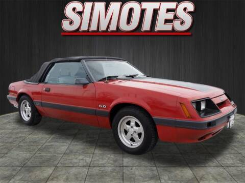 1985 Ford Mustang for sale at SIMOTES MOTORS in Minooka IL