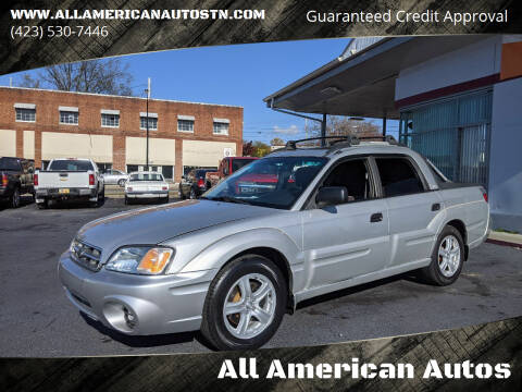 2003 Subaru Baja for sale at All American Autos in Kingsport TN