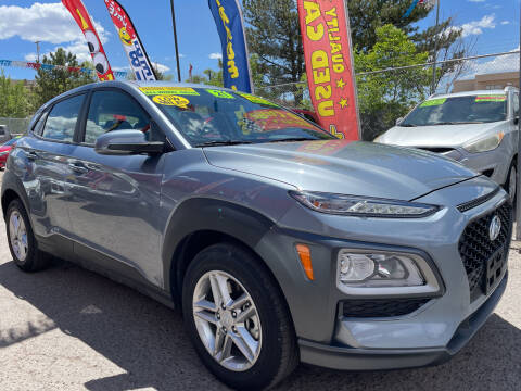 2021 Hyundai Kona for sale at Duke City Auto LLC in Gallup NM