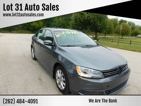 2013 Volkswagen Jetta for sale at Lot 31 Auto Sales in Kenosha WI