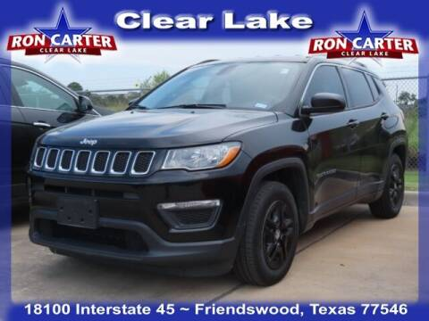 2020 Jeep Compass for sale at Ron Carter  Clear Lake Used Cars in Houston TX
