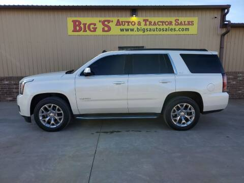 2015 GMC Yukon for sale at BIG 'S' AUTO & TRACTOR SALES in Blanchard OK