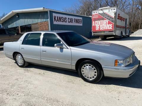 1999 Cadillac DeVille for sale at Kansas Car Finder in Valley Falls KS