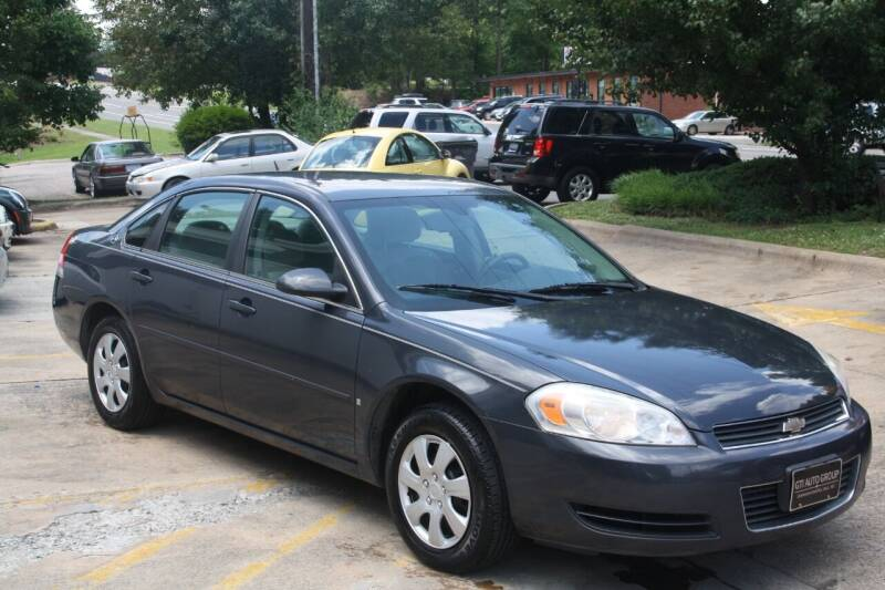 2008 Chevrolet Impala for sale at GTI Auto Exchange in Durham NC