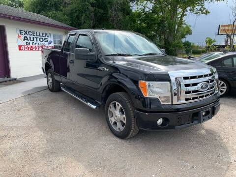 2009 Ford F-150 for sale at Excellent Autos of Orlando in Orlando FL