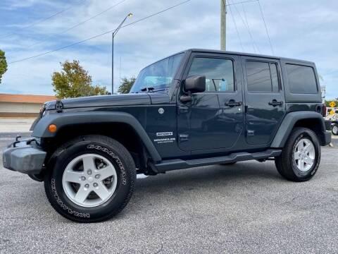 2017 Jeep Wrangler Unlimited for sale at Blum's Auto Mart in Port Orange FL