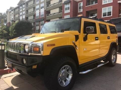 2005 HUMMER H2 for sale at Platinum Motors in San Bruno CA