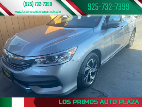 2017 Honda Accord for sale at Los Primos Auto Plaza in Antioch CA