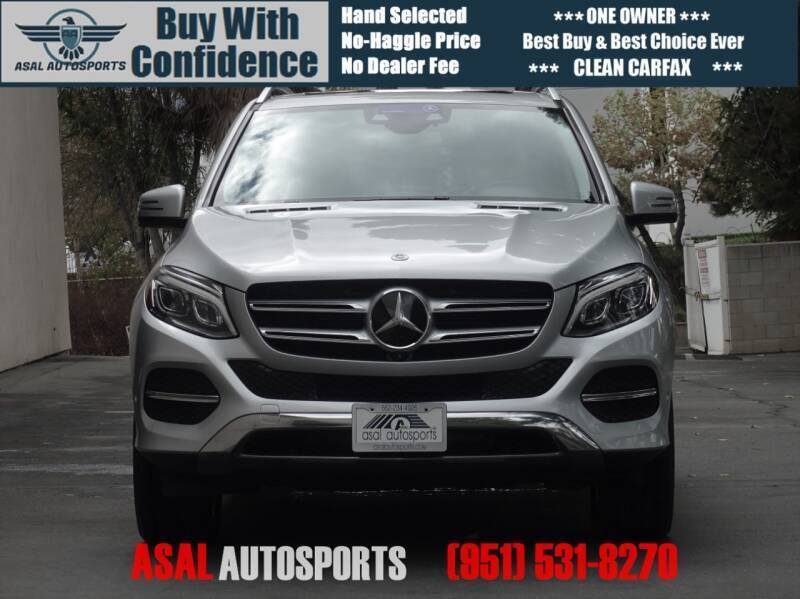 2018 Mercedes-Benz GLE for sale at ASAL AUTOSPORTS in Corona CA
