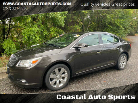2013 Buick LaCrosse for sale at Coastal Auto Sports in Chesapeake VA
