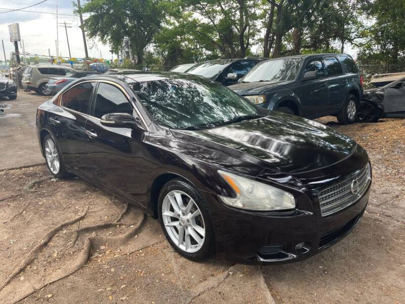 2010 Nissan Maxima for sale at P J Auto Trading Inc in Orlando FL