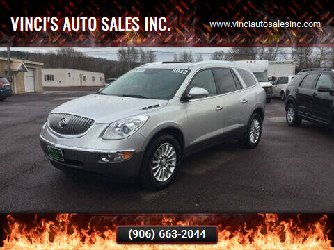 2012 Buick Enclave for sale at Vinci's Auto Sales Inc. in Bessemer MI