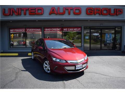 2017 Chevrolet Volt for sale at United Auto Group in Putnam CT