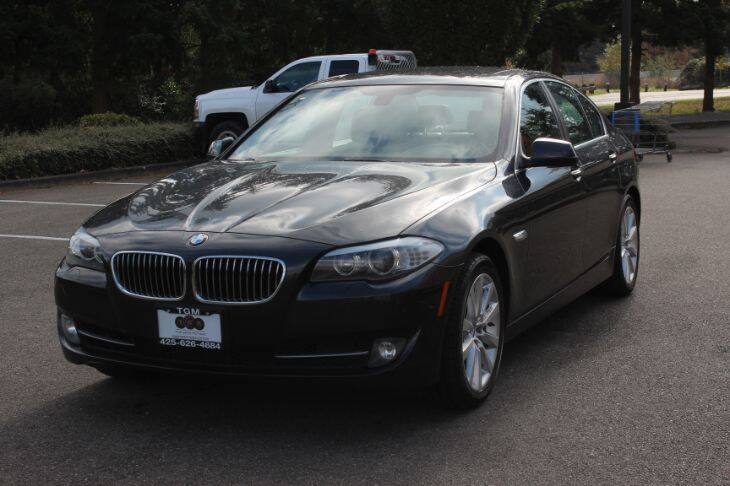 2013 BMW 5 Series for sale at Top Gear Motors in Lynnwood WA