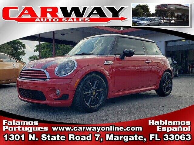 2011 MINI Cooper for sale at CARWAY Auto Sales in Margate FL