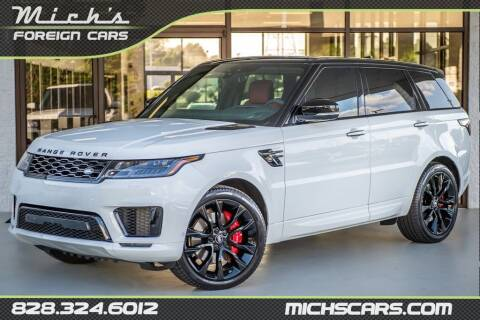 2021 Land Rover Range Rover Sport for sale at Mich's Foreign Cars in Hickory NC