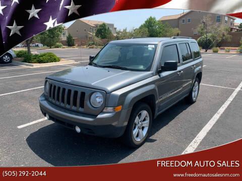 2011 Jeep Patriot for sale at Freedom Auto Sales in Albuquerque NM