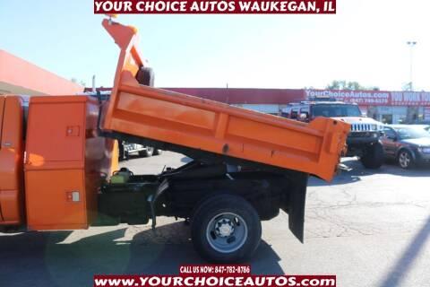 2004 Chevrolet Silverado 3500 for sale at Your Choice Autos - Waukegan in Waukegan IL