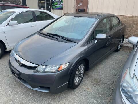2011 Honda Civic for sale at Randys Auto Sales in Gardner MA
