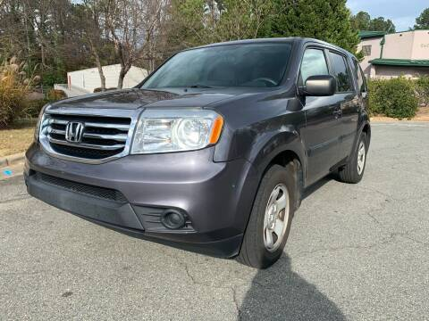 2015 Honda Pilot for sale at Triangle Motors Inc in Raleigh NC
