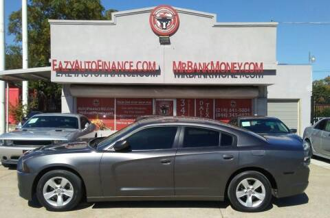 2014 Dodge Charger for sale at Eazy Auto Finance in Dallas TX