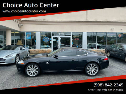 2008 Jaguar XK-Series for sale at Choice Auto Center in Shrewsbury MA