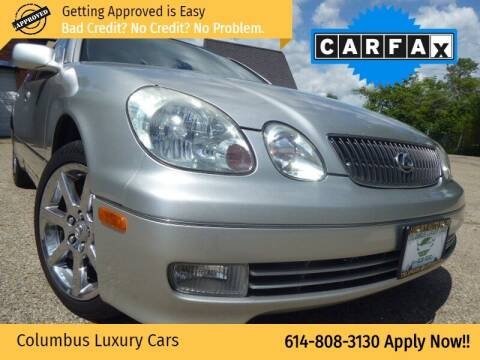 2004 Lexus GS 430 for sale at Columbus Luxury Cars in Columbus OH