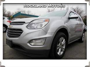 2016 Chevrolet Equinox for sale at Rockland Automall - Rockland Motors in West Nyack NY